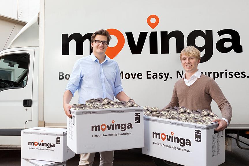 Movinga mit 90 Millionen bewertet