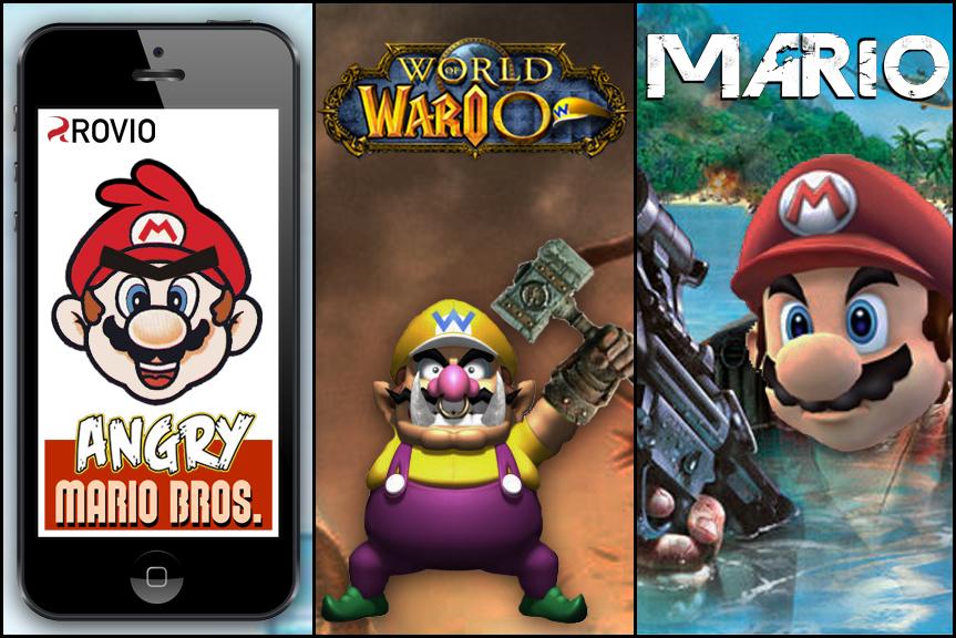 Wie Super Mario aussähe, wäre es heute entstanden