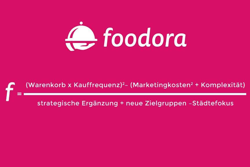 Wie und warum funktioniert das Geschäftsmodell von Foodora?