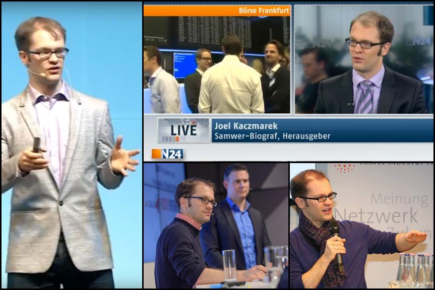 Joel Kaczmarek als (Keynote) Speaker