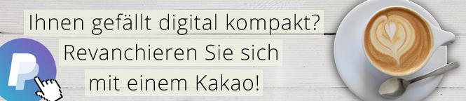digital kompakt, PaypPal Me