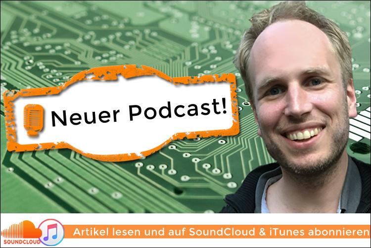 Neue Podcast-Reihe mit Johannes Schaback zu IT & Tech