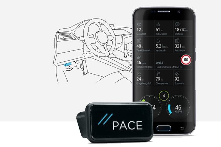 Tech Check: Pace nutzt Fahrzeugdaten für Services rund ums eigene Auto