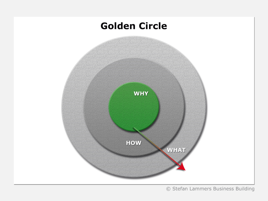 Golden Circle, Simon Sinek Vision