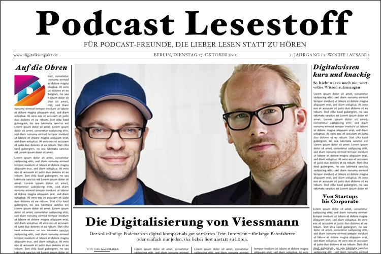 Beispiel Transkript Viessmann