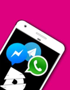 digital kompakt, Messenger Service, WhatsApp