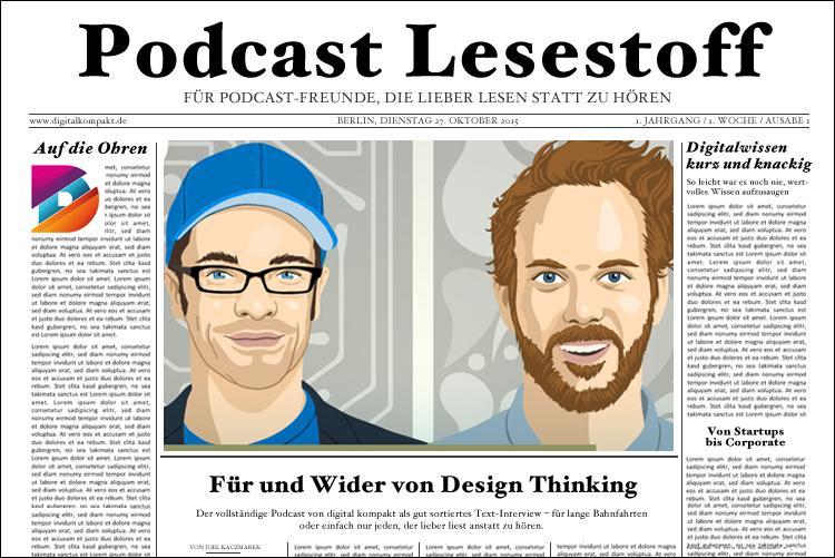 Was ist Design Thinking und wie wende ich es an? (Transkript zu Digital by Design #1)