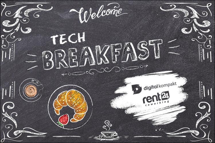 Einladung zum ersten Tech Breakfast – mit Gastvortrag zu KI und Spracherkennung