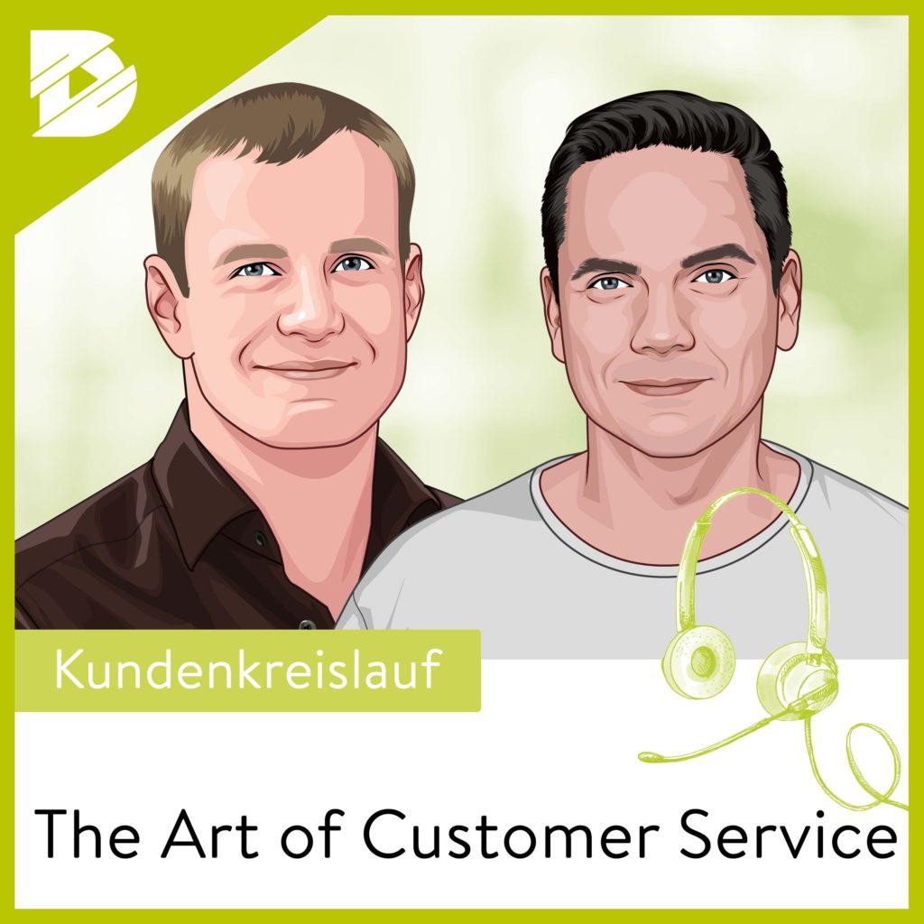 Customer Service, Podcast, Kundendienst, Zendesk, Bjoern Bauer, Erik Pfannmoeller