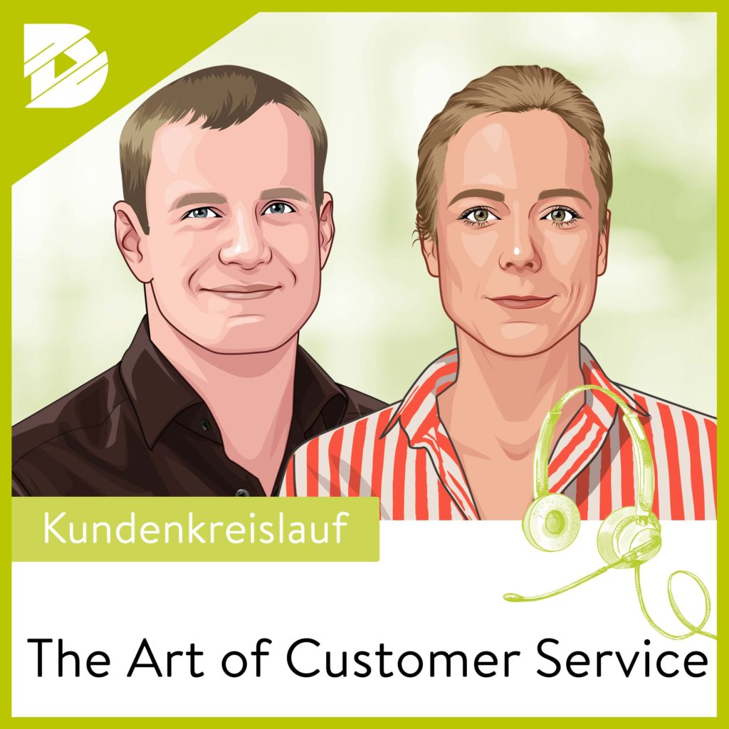 Customer Service, Podcast, Kundendienst, Nina Puetz, Brands4Friends, Erik Pfannmoeller