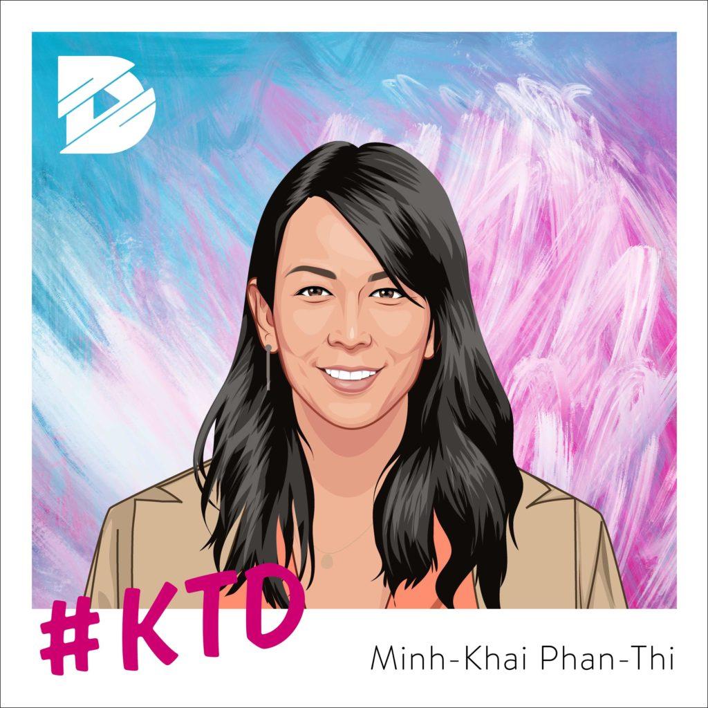 Minh-Khai Phan-Thi: Auf und nicht zwischen den Stühlen sitzen   Kunst trifft Digital #6