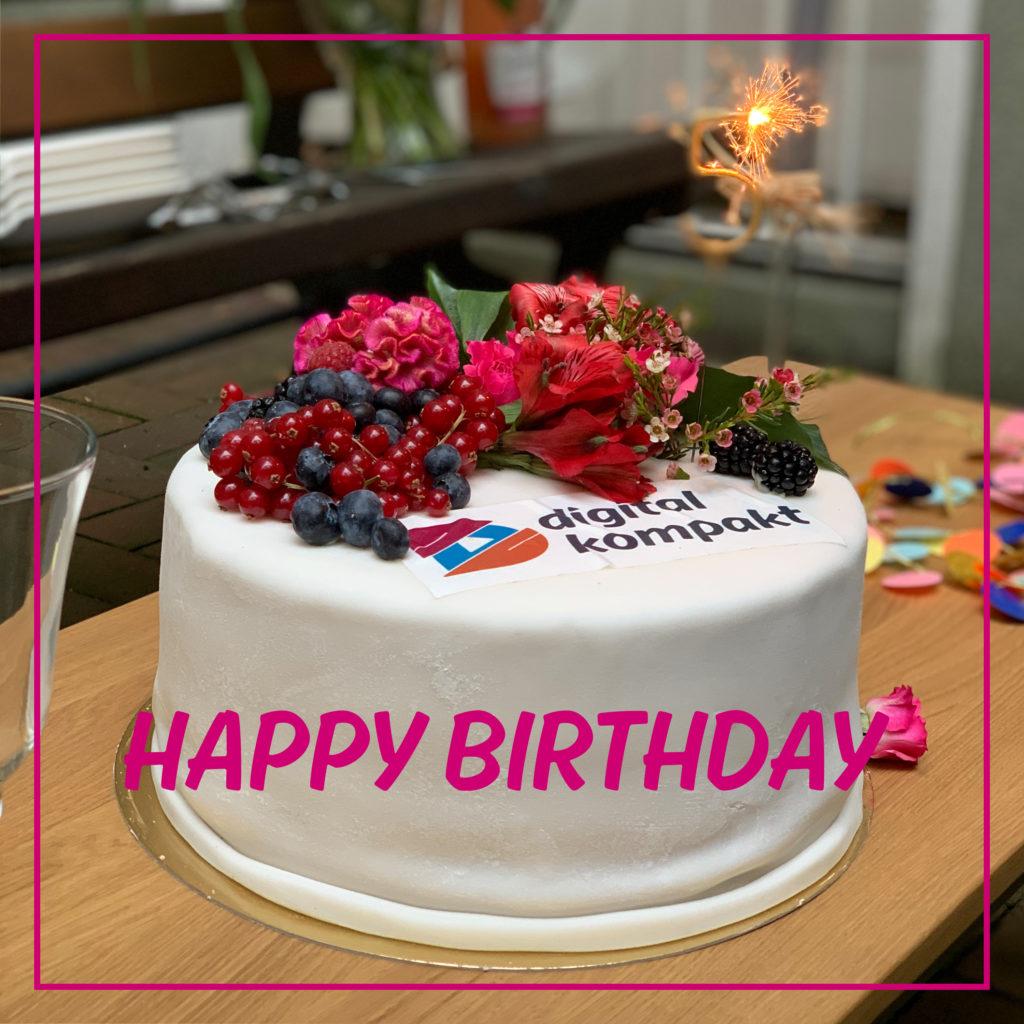 Happy Birthday: digital kompakt feiert 5. Geburtstag!