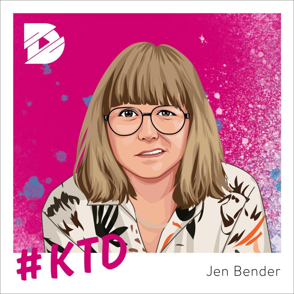 Jen Bender von Grossstadtgeflüster: Wie schreibt man gute Musik?| Kunst trifft Digital #22