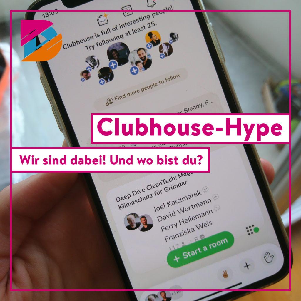 Clubhouse-Hype: Und plötzlich bist du im Talk mit Deutschlands Wirtschaftsgrößen