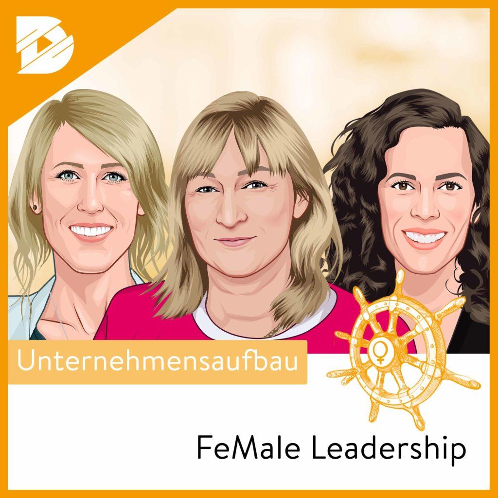 Podcast-digital kompakt-FeMale Leadership-Frauenquote und Diversitaet