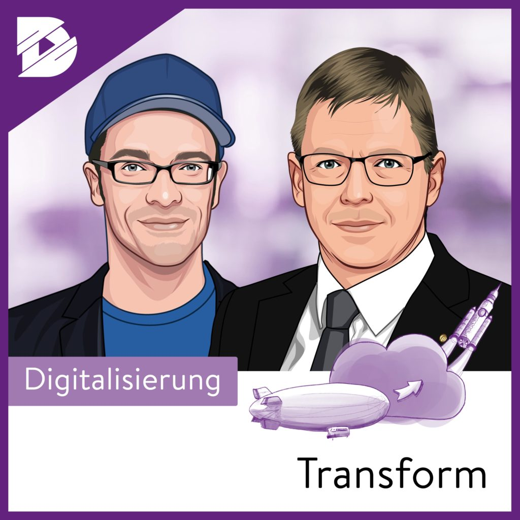 Podcast-digital kompakt-Transform-agile Teamorganisation