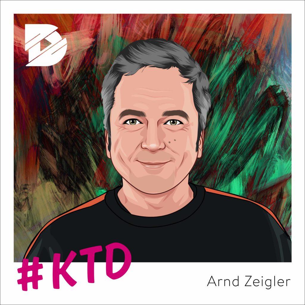 Arnd Zeigler: Über die wunderbare Welt des Fußballs | Kunst trifft Digital #35