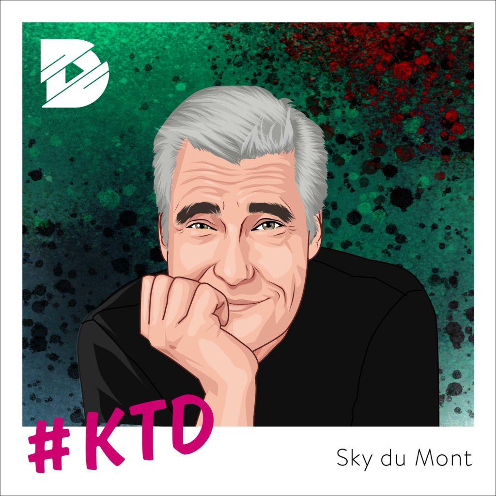 Sky du Mont: Ein Gentleman blickt zurück | Kunst trifft Digital #36