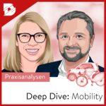 Podcast, digital kompakt, Deep Dive Mobility, Mobilitätswende in Städten